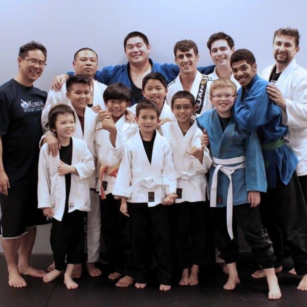 Judo class
