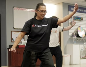 Martial Arts Tai Chi Class
