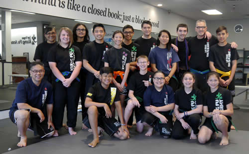 Tween Martial Arts Class Belt Test