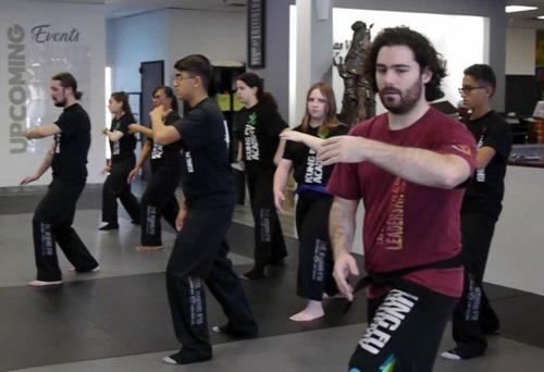 Tai Chi Class Martial Arts