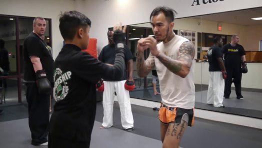 Kickboxing class Martial Arts